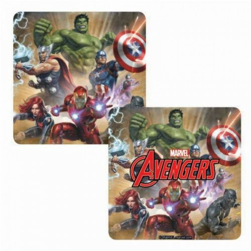Marvel Comics Avengers Lenticular Single Coaster Drinks Mat